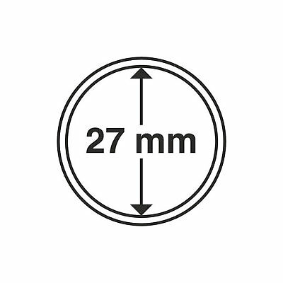 Lighthouse Coin Capsule - Round 27mm - 1 Only