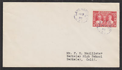 Canada Sc 213 on 1935 Lake Harbour Nascopie Cover