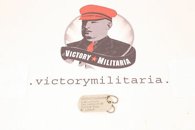 WWII US Dog Tag