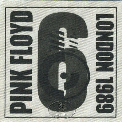 PINK FLOYD 1989 ANOTHER LAPSE BACKSTAGE PASS London 6