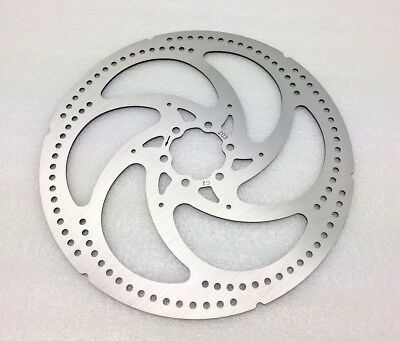 2 X BENGAL BICYCLE BIKE 160mm Stainless Disc Brake Rotor Silver /& White 6 Bolts