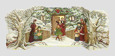 25 Circus & Carol Singers Pull-out Christmas Gift Cards XG0019