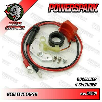 Powerspark Electronic Ignition Kit Ducellier Distributor Renault 57-77