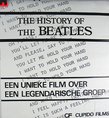 HISTORY THE BEATLES PROMO POSTER CUPIDO FILMS Holland