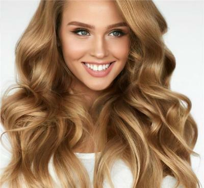 Double Weft Clip in Remy Human Hair Extensions