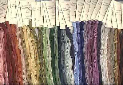 Crescent Colours/Classic Colorworks Hand-Dyed Floss - U CHOOSE 5 SKEINS