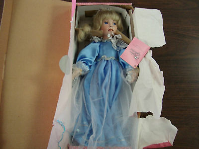 """Paradise Galleries--Angel Of Peace--Porcelain Doll--14"""" Tall"""