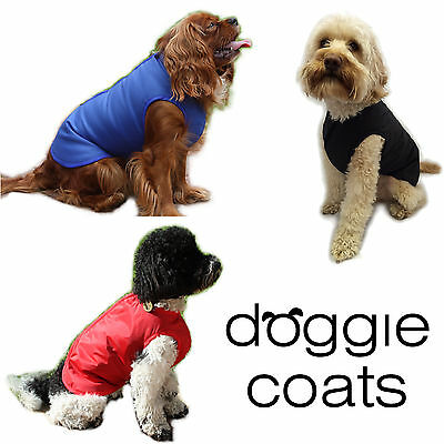 Doggie Coats Step In Luxury Lined Waterproof Dog Coat