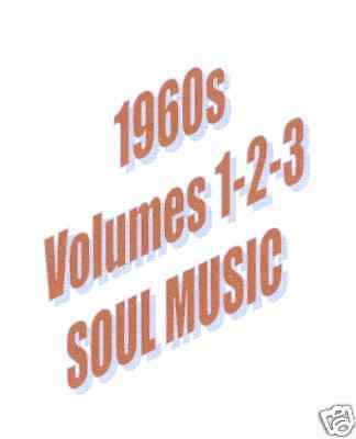 1960 To 1969 SOUL GREATEST HITS ON 3 DVDs DISCOUNTED