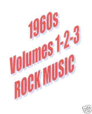 ROCK'S GOLDEN HITS 1960 To 1969 ON 3 DVDs DISCOUNTED