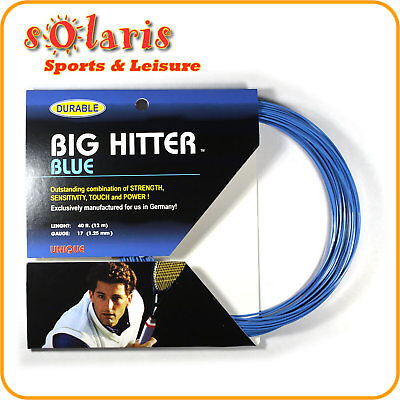 Tourna Poly Big Hitter Blue Tennis String 12 M GAUGE17