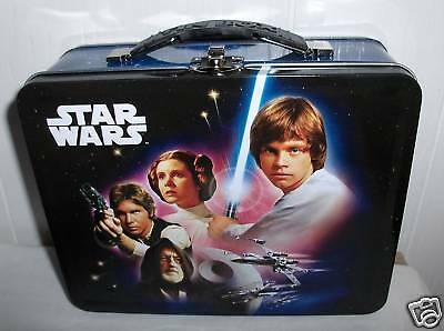 Star Wars-2010`Lucasfilm LTD`Raised Graphics`Metal Lunchbox`New`Free To US