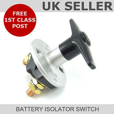 Heavy Duty Fixed Key Battery Isolator Switch (300A)