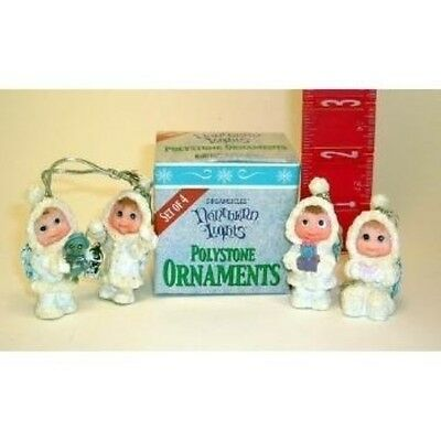 Northern Lights Set of 4 Ornaments Dreamsicles NIB SALE