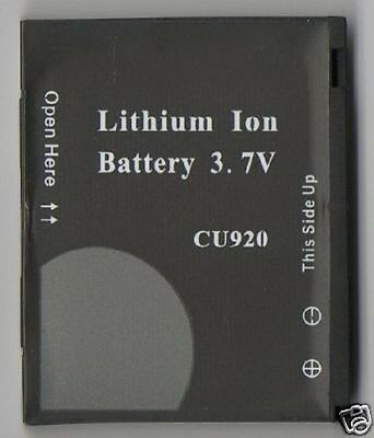 LOT 3 NEW BATTERY FOR LG CU920 Vu CU915 TV 3G AT&T