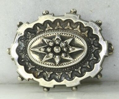 Victorian Antique Small Sterling Silver  Pin