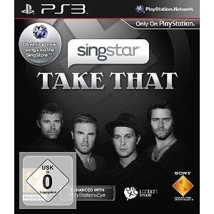 PS 3 PS3 Spiel Sing Star Singstar Take That Neu