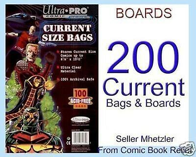 200 Current Ultra Pro Bags And Boards For Comic Books