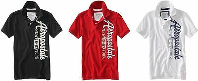 LOT OF 3! - Aeropostale MEN POLO Shirts t  S,M,L,XL,2XL