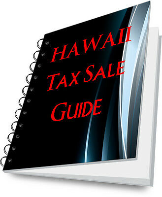 HAWAII State Guide To Buying Tax Deeds at Tax Sales