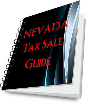 NEVADA Tax Deed State Guide For Tax Sale REI REO