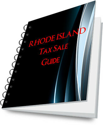 RHODE ISLAND RI Tax Lien Certificate State Guide For Real Estate Investing!