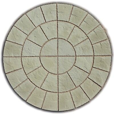 6Ft Rotunda Circle Paving Patio Slabs Free Delivery Note Exceptions