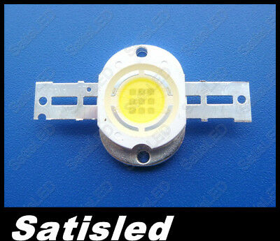 10w High Power Round Cold White Led 800-900LM 20000k