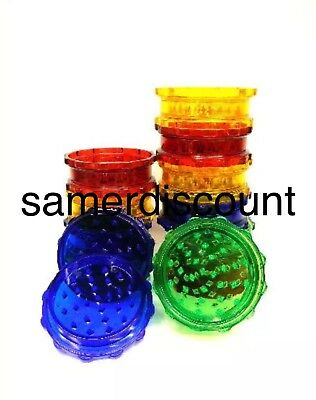 """2  Piece Grinder Shark Tooth 2.75"""" Plastic Two Part Acrylic - Buy 2 Get 1 Free"""