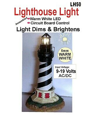 Light house light, LED Circuit for model Lighthouse. Warm & Cool white colors!