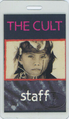 The Cult 1991-92 Ceremony Laminated Backstage Pass