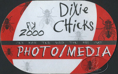 DIXIE CHICKS 2000 FLY TOUR Backstage Pass
