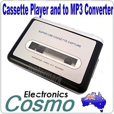USB Cassette Player and Tape to MP3 CD ipod Converter