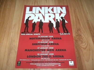 Linkin park-2008 magazine advert