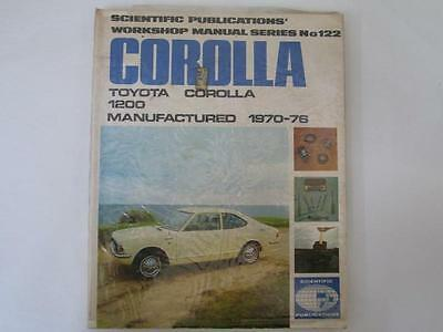Corolla - Toyota 1200 - Workshop Manual Series No122