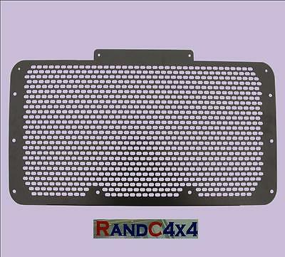 Land Rover Defender Black Steel Grill (replace plastic)