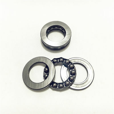 10pcs 51200 10x26x11mm Roll Axial Ball Thrust Bearing 3-Parts 10mm x 26mm x 11mm
