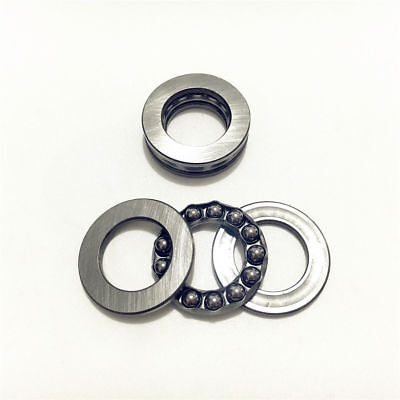 5pcs 51201 12x28x11mm Roll Axial Ball Thrust Bearing 3-Parts 12mm x 28mm x 11mm