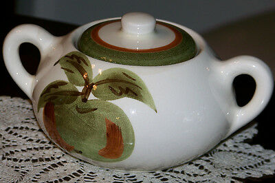 Stangl Pottery - Orchard Song - Sugar Bowl with Lid