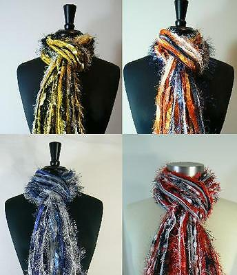 Football Scarves - Womens College Team All Fringe Scarf