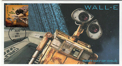 Jvc Cachets -Wall-E First Day Cover -  Pixar Fdc  #2