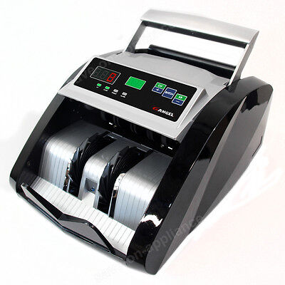 New! Money Bill Cash Counter Bank Machine Count Currency Counting Usd Digital