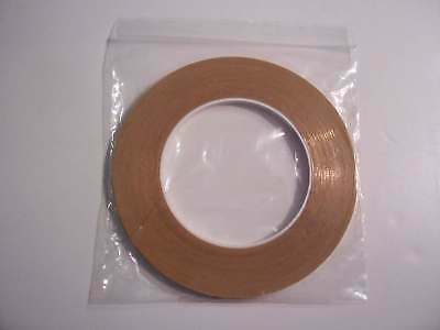 Copper Track Tape 5mm Wide 50m Wiring Model Railway Layouts Sicky one side