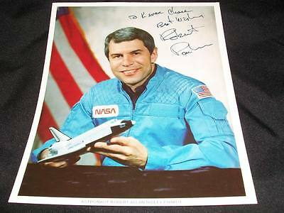 NASA Robert Parker Auto Signed 8x10 Official Photo