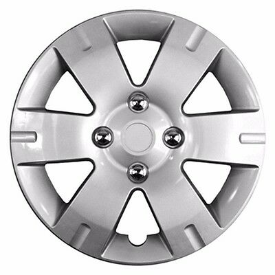 "NEW 15""6-Spoke Silver Hubcap Wheelcover FITS 2007-2012 Nissan SENTRA"