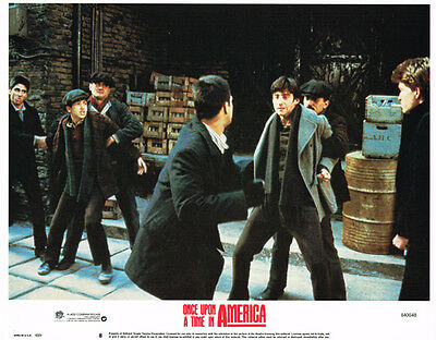 Once Upon A Time In America Original Sergio Leone Lobby Card 11X14 #8 Mint