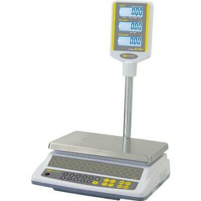 Easy Weigh CK-60-POLE Price Computing Scale with Column 60 lb x 0.01 lb