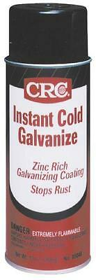 New Lot (2) 13Oz Cans Crc 05048 Instant Cold Galvanize Zinc Spray Paint Coating
