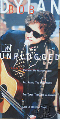 Bob Dylan 1995 Unplugged Promotional Poster