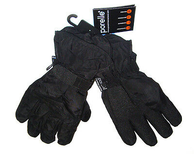 ULTIMATE MOUNTAIN TREK GLOVES Black waterproof windproof breathable Mens Ladies